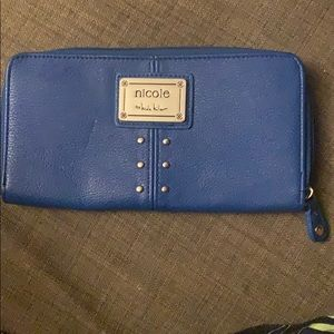 Nicole by Nicole Miller Bright Blue wallet
